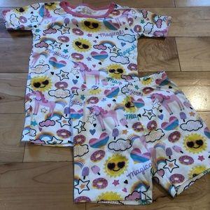 Other - Unicorn pajama set size 5T